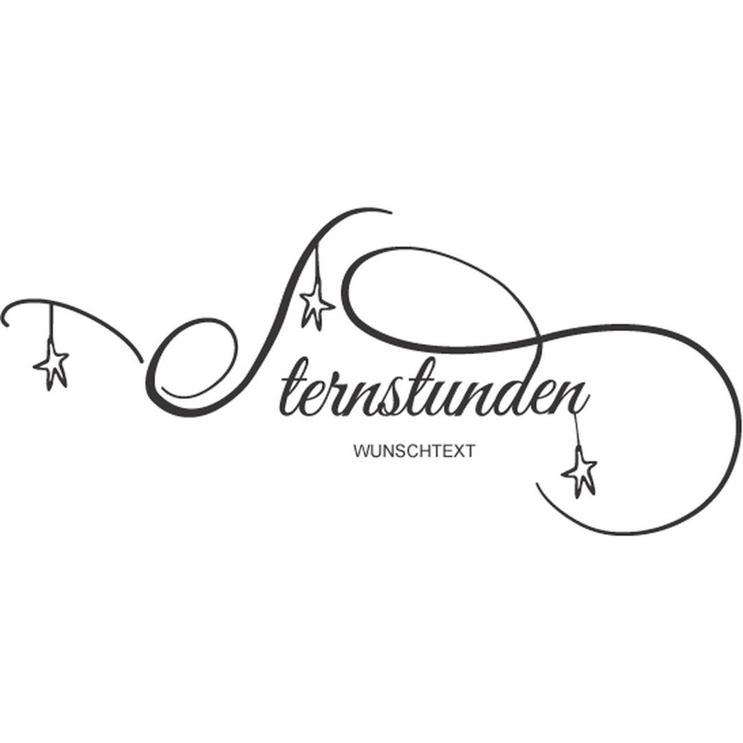 Wandtattoo Wunschtext Sternstunden - CG10298