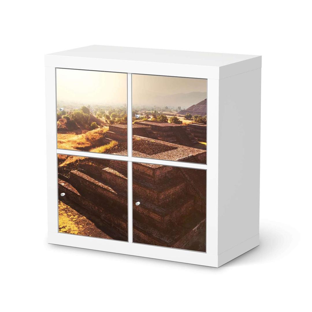 Möbelfolie IKEA Expedit Regal 4 Türen - Teotihuacan - CR114595