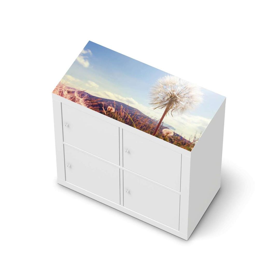 Möbelfolie IKEA Expedit Regal oben - Dandelion - CR114620