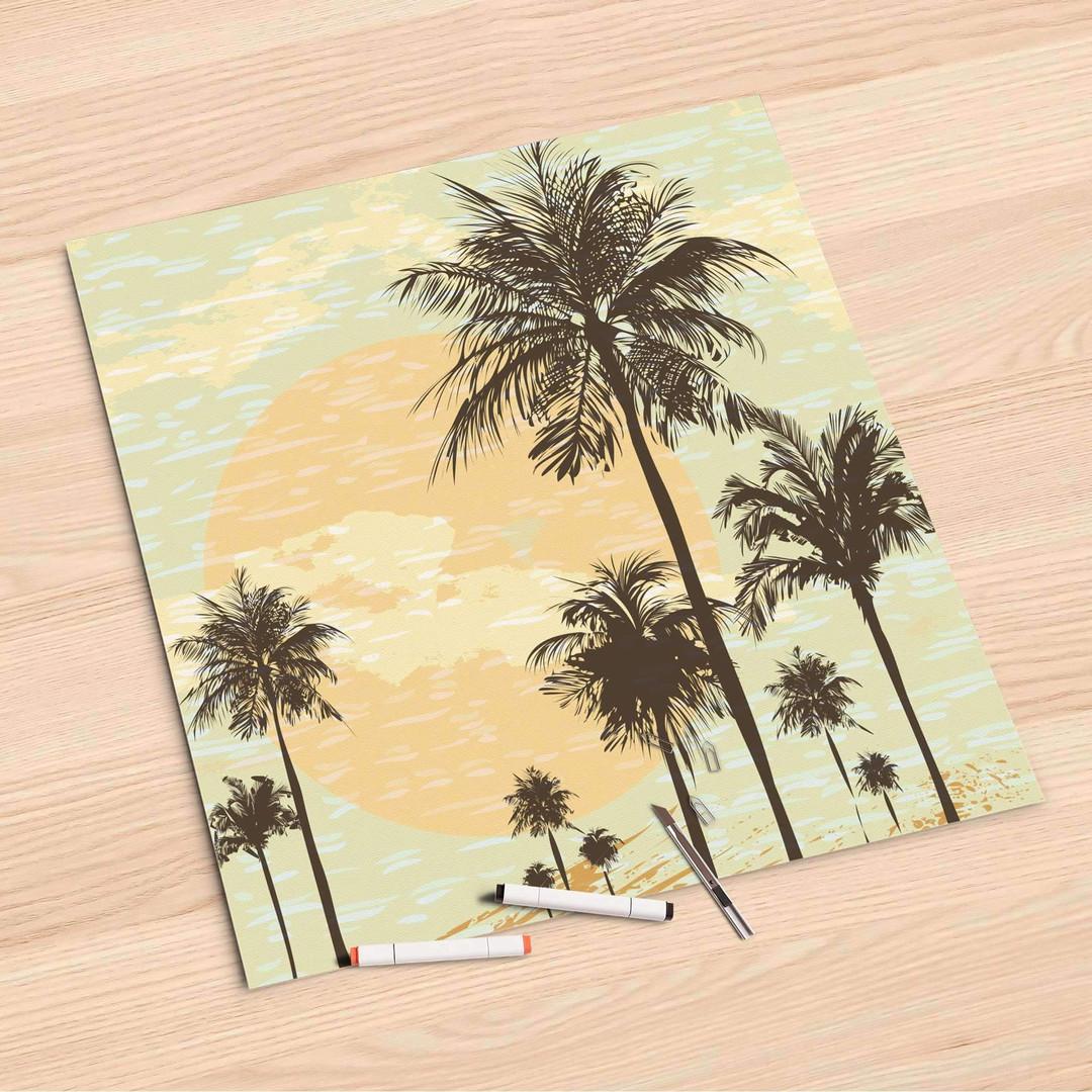 Folienbogen (60x60cm) - Beach Palms - CR107019