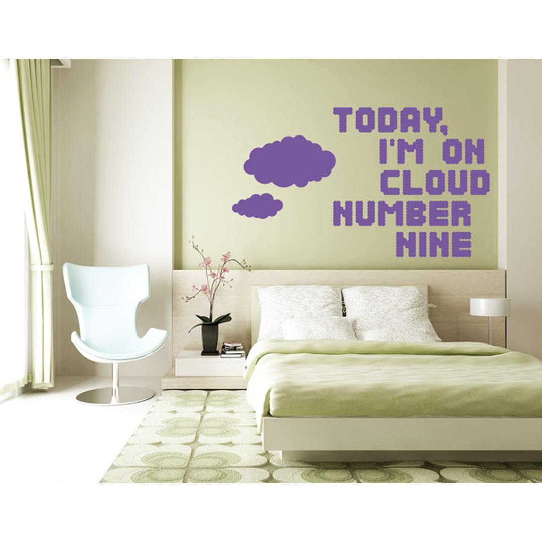 Wandtattoo Cloud nr.9 - TD16384