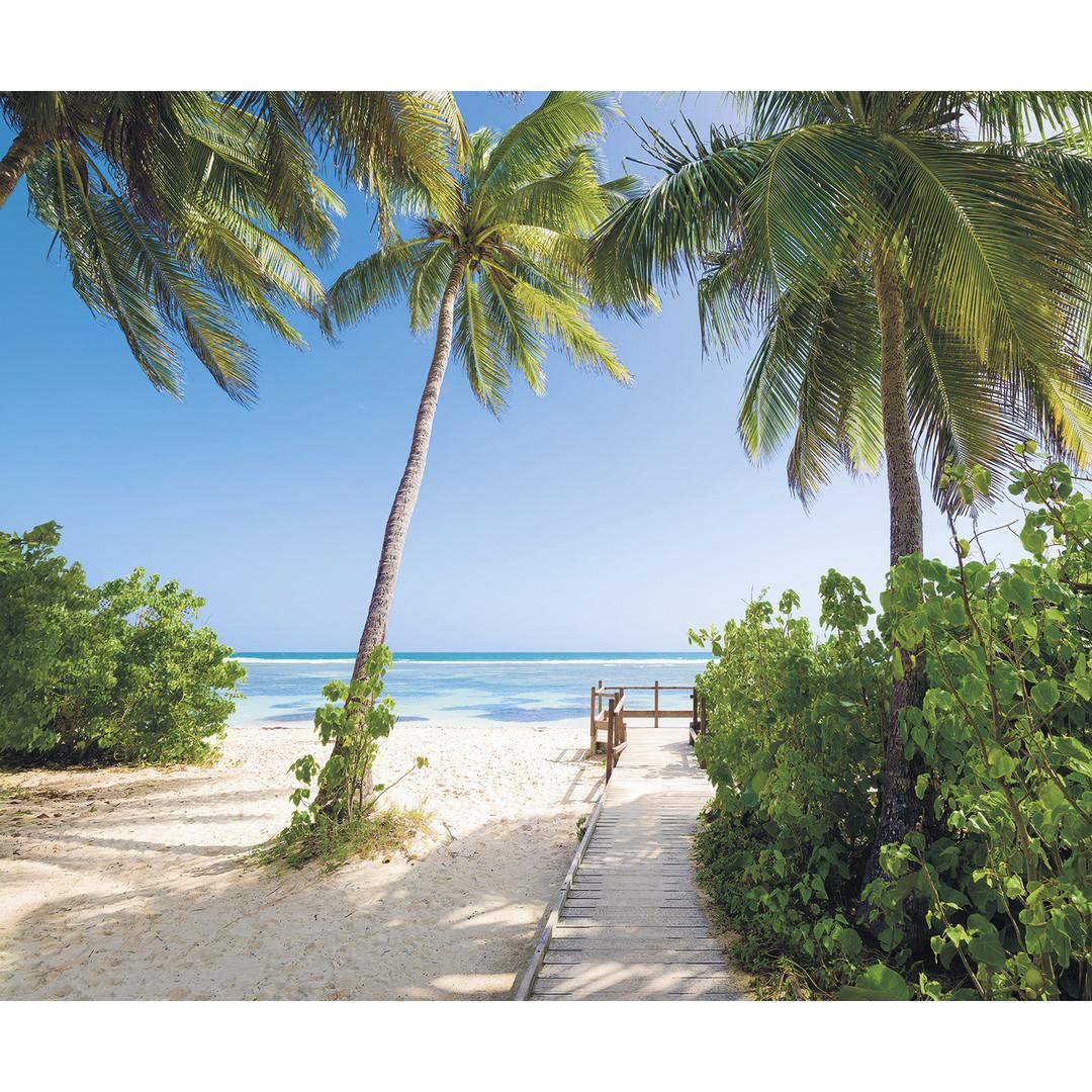 Sonderanfertigung Exklusive Vliestapete Palmy Beach - KOSH088-VD3-ONE