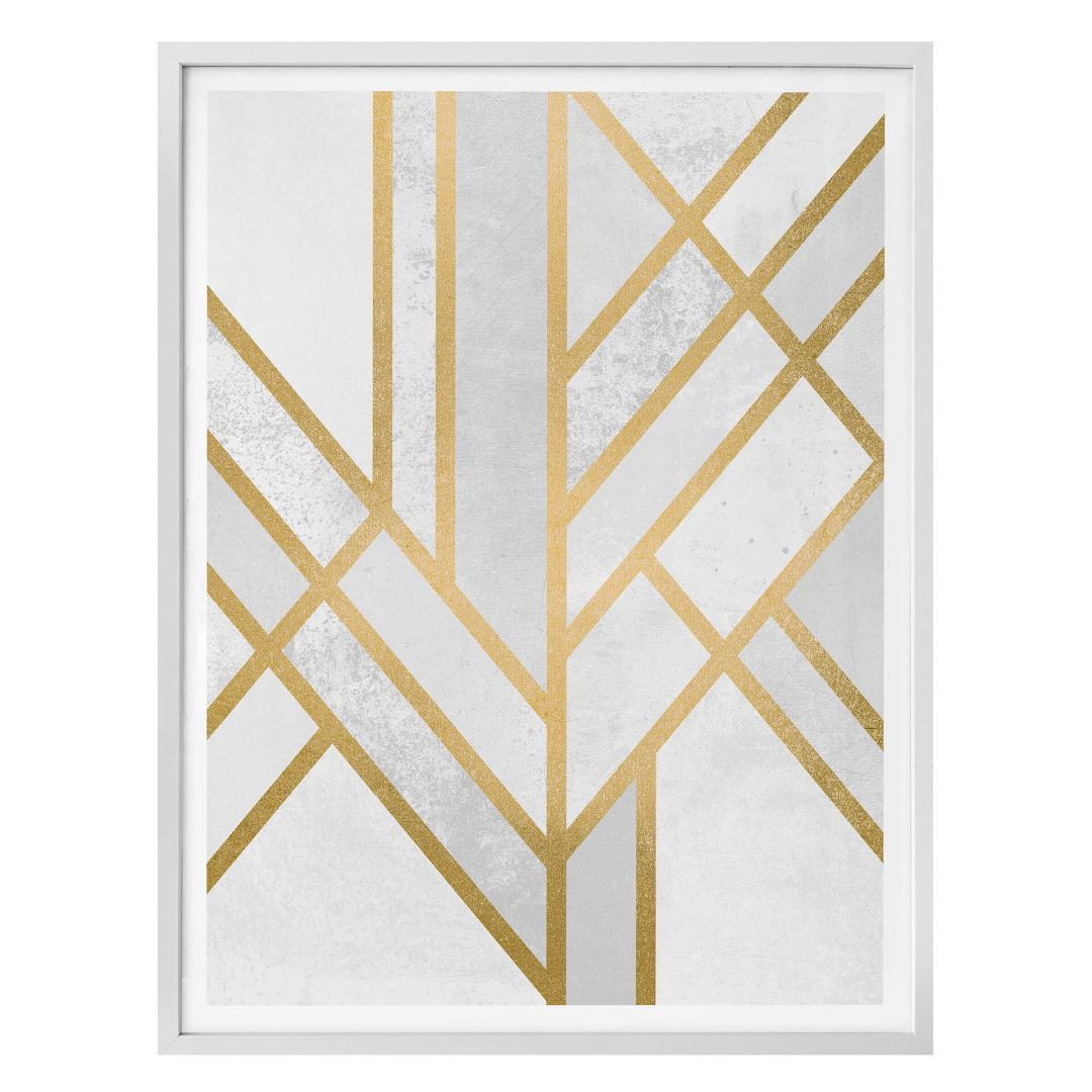 Poster Fredriksson - Art Deco: Goldene Geometrie - WA257408