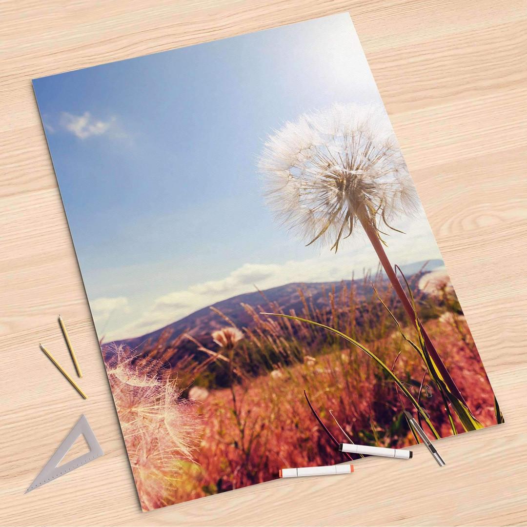 Folienbogen (80x120cm) - Dandelion - CR107294