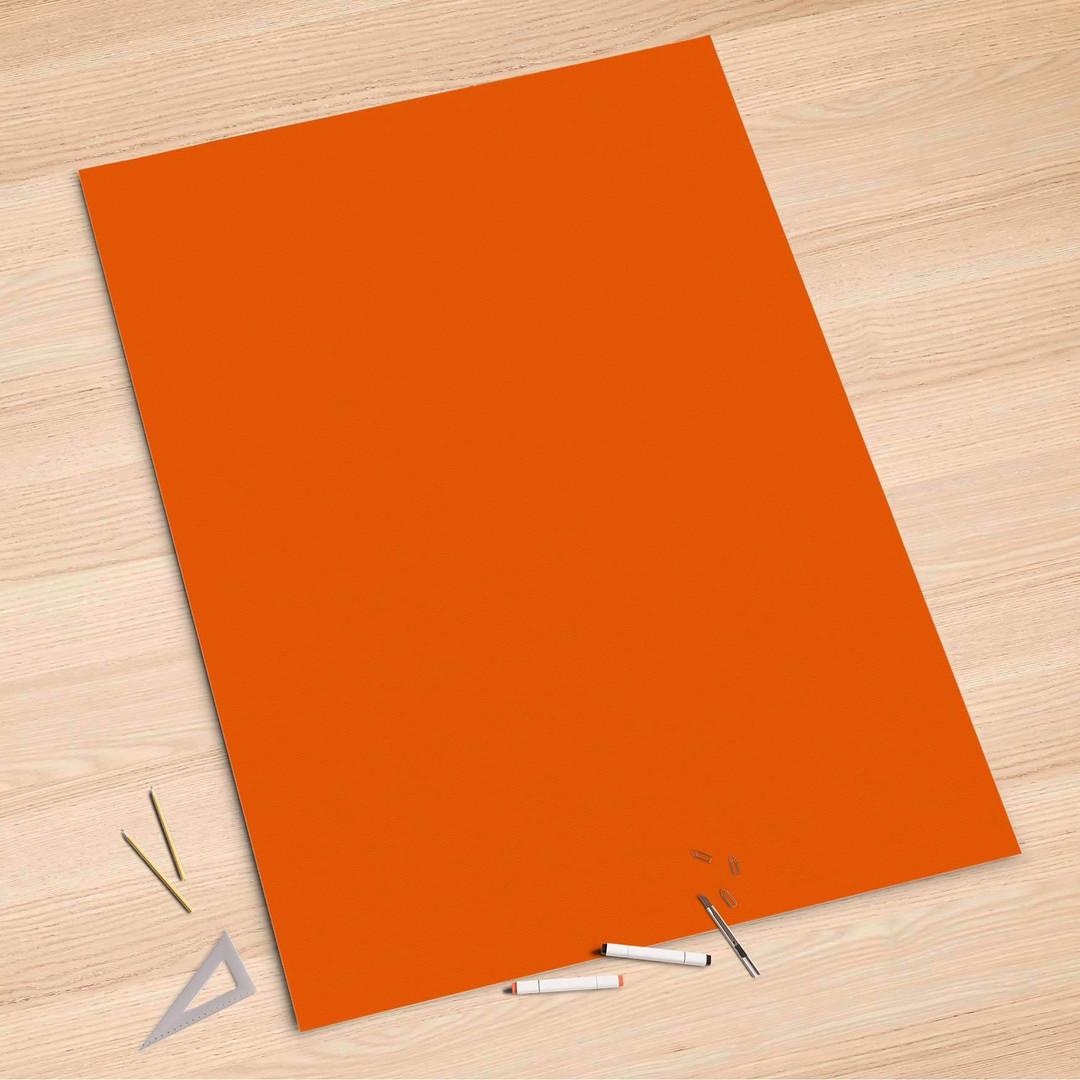 Folienbogen (100x150cm) - Orange Dark - CR106226