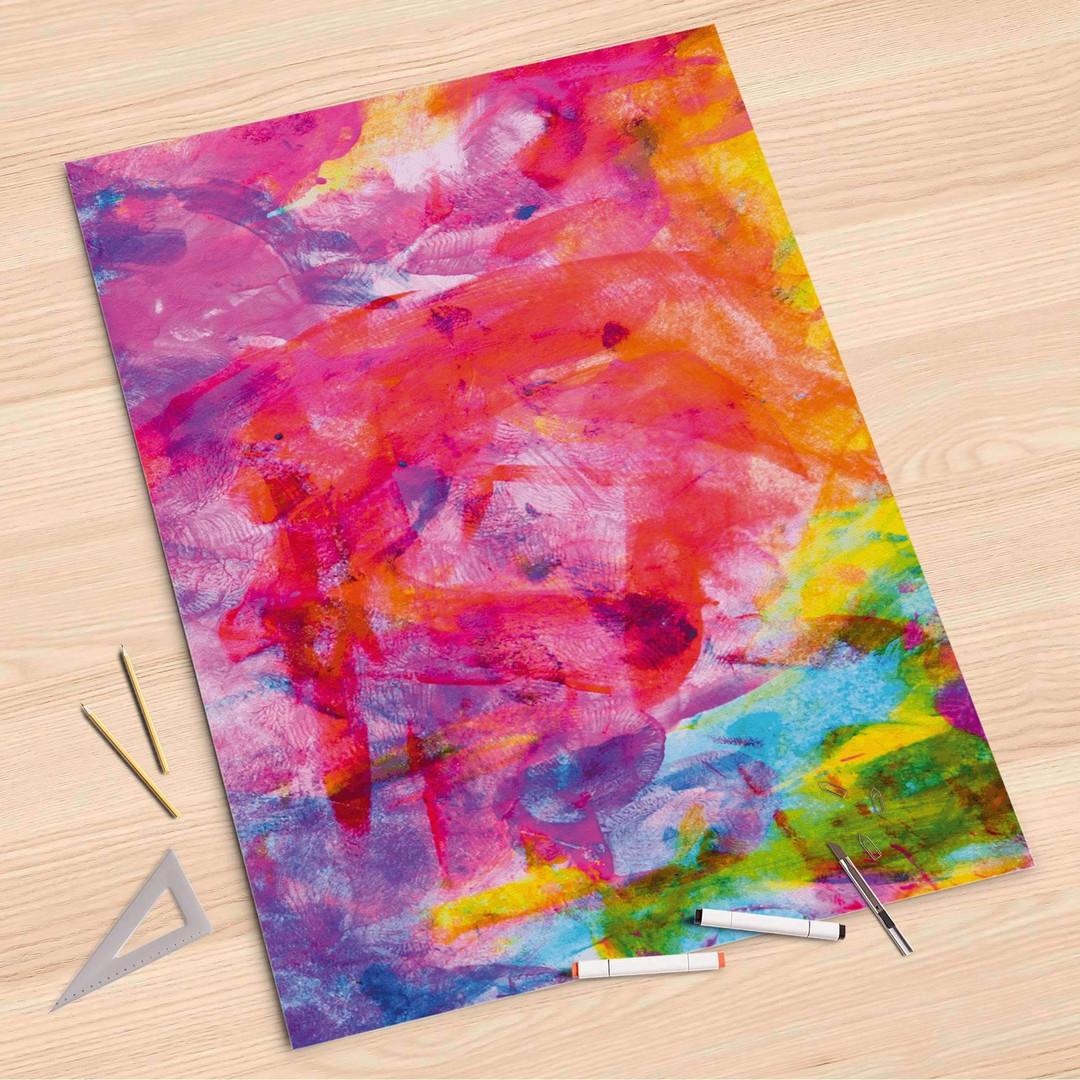 Folienbogen (80x120cm) - Abstract Watercolor - CR107252
