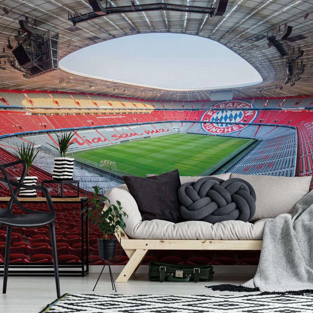 Fototapete FCB Stadion Mia san mia - WA252466