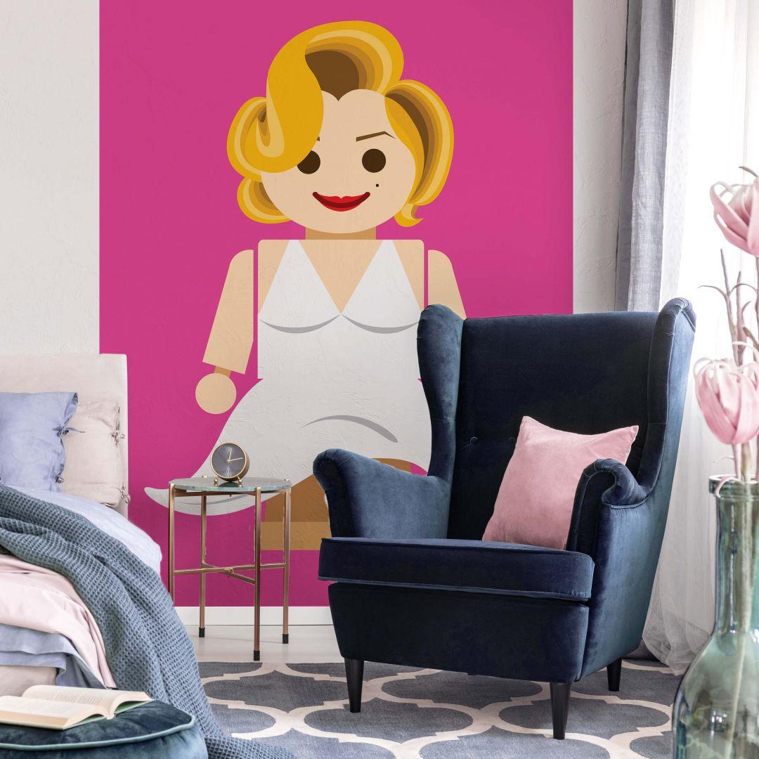 Fototapete Gomes - Marilyn Monroe Spielzeug - 192x260cm - WA271048