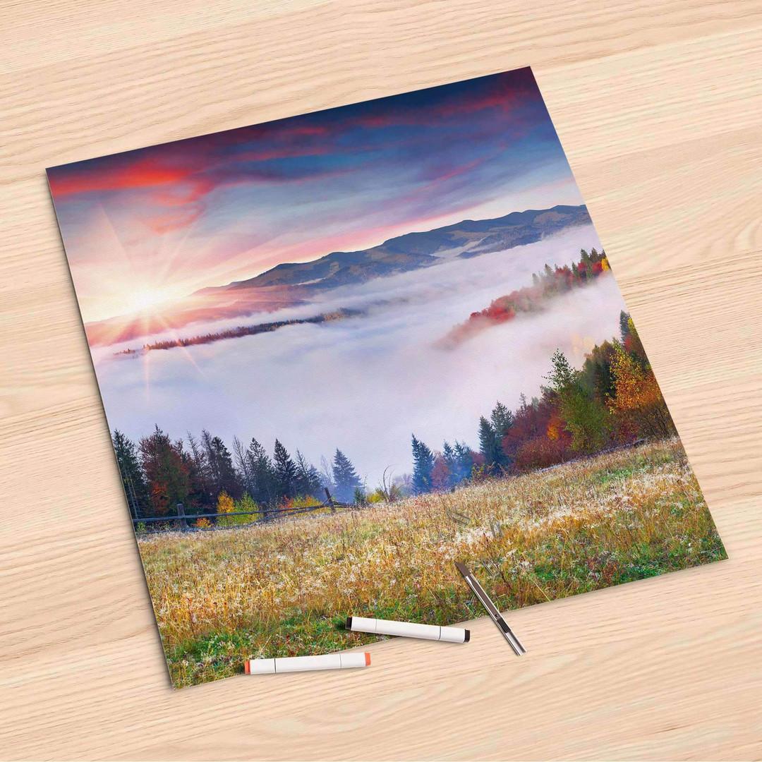 Folienbogen (60x60cm) - Herbstwald - CR107102