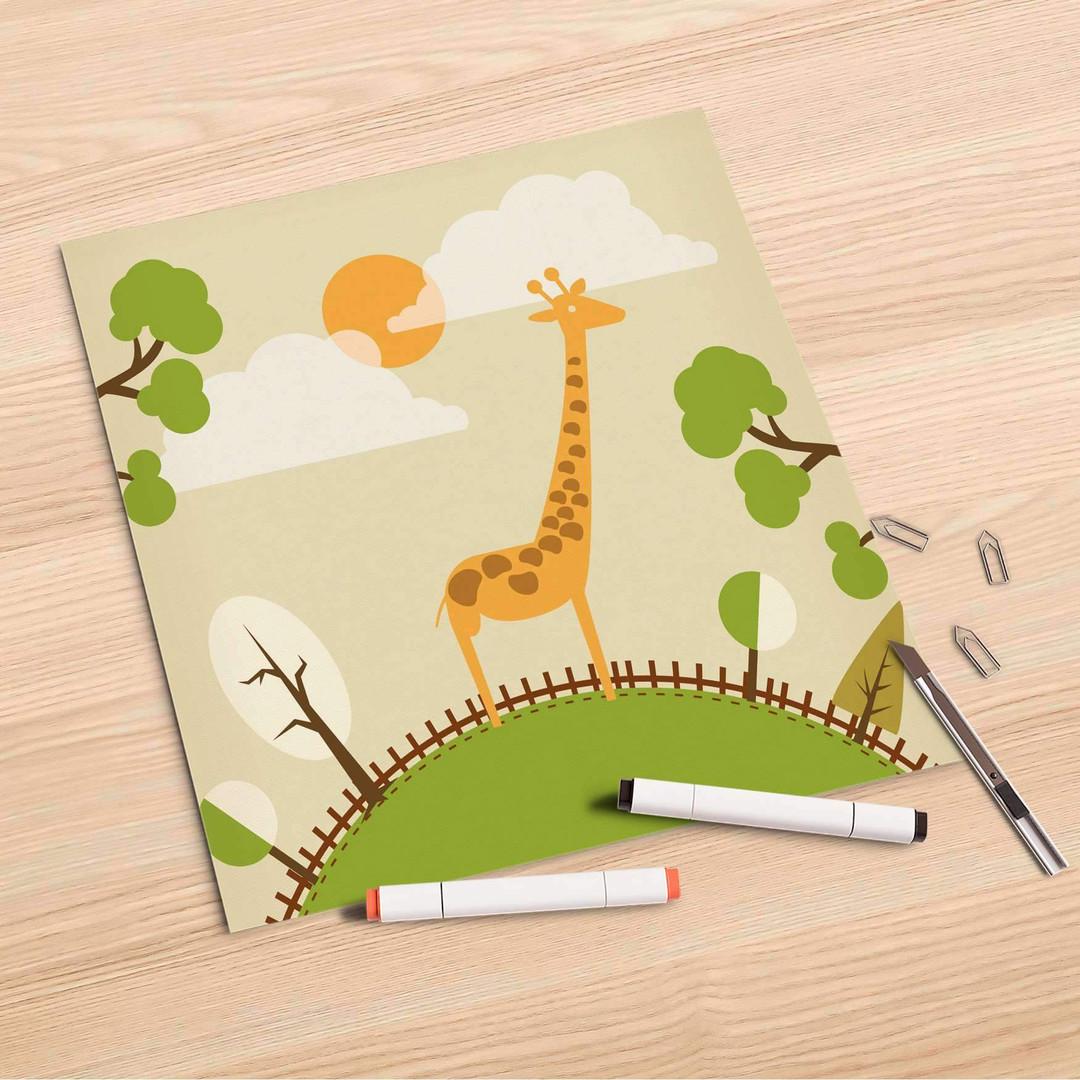 Folienbogen (30x30cm) - Mountain Giraffe - CR106883