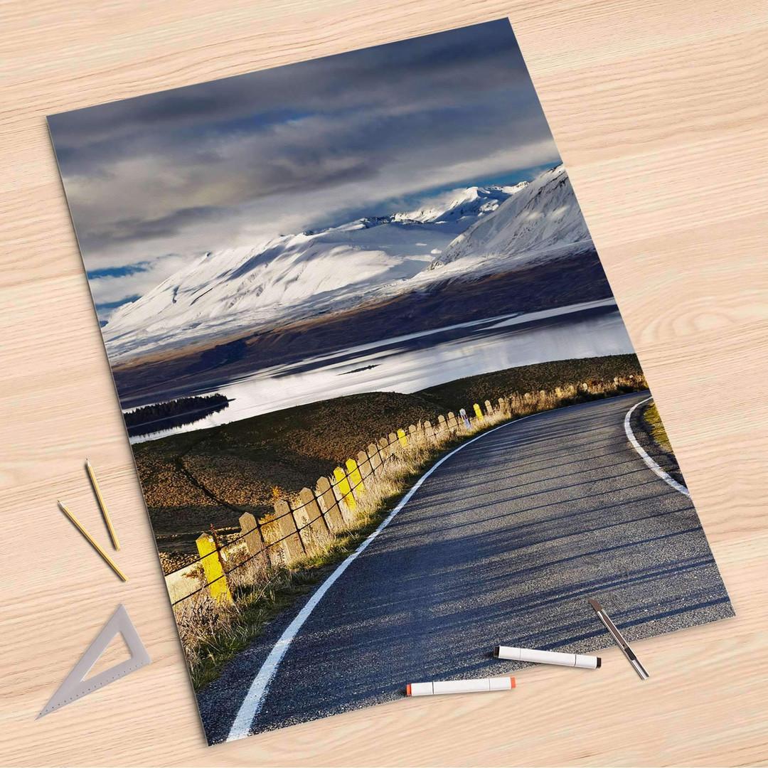 Folienbogen (80x120cm) - New Zealand - CR107380