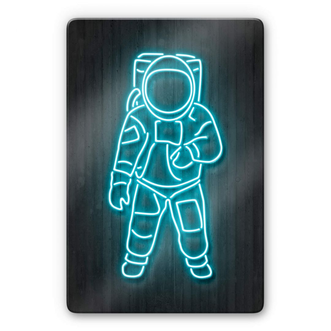 Glasbild Mielu - Astronaut - WA288894