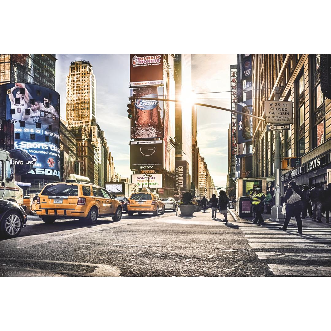 Sonderanfertigung Exklusive Vliestapete Times Square - KOXXL4-008-ONE
