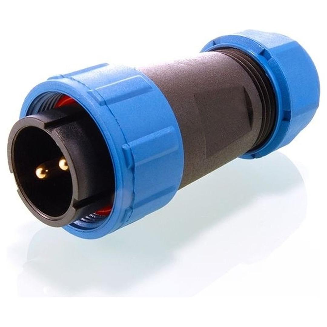 Kapego Adapter Weipu 2 polig IP65 Männlich - CL101875