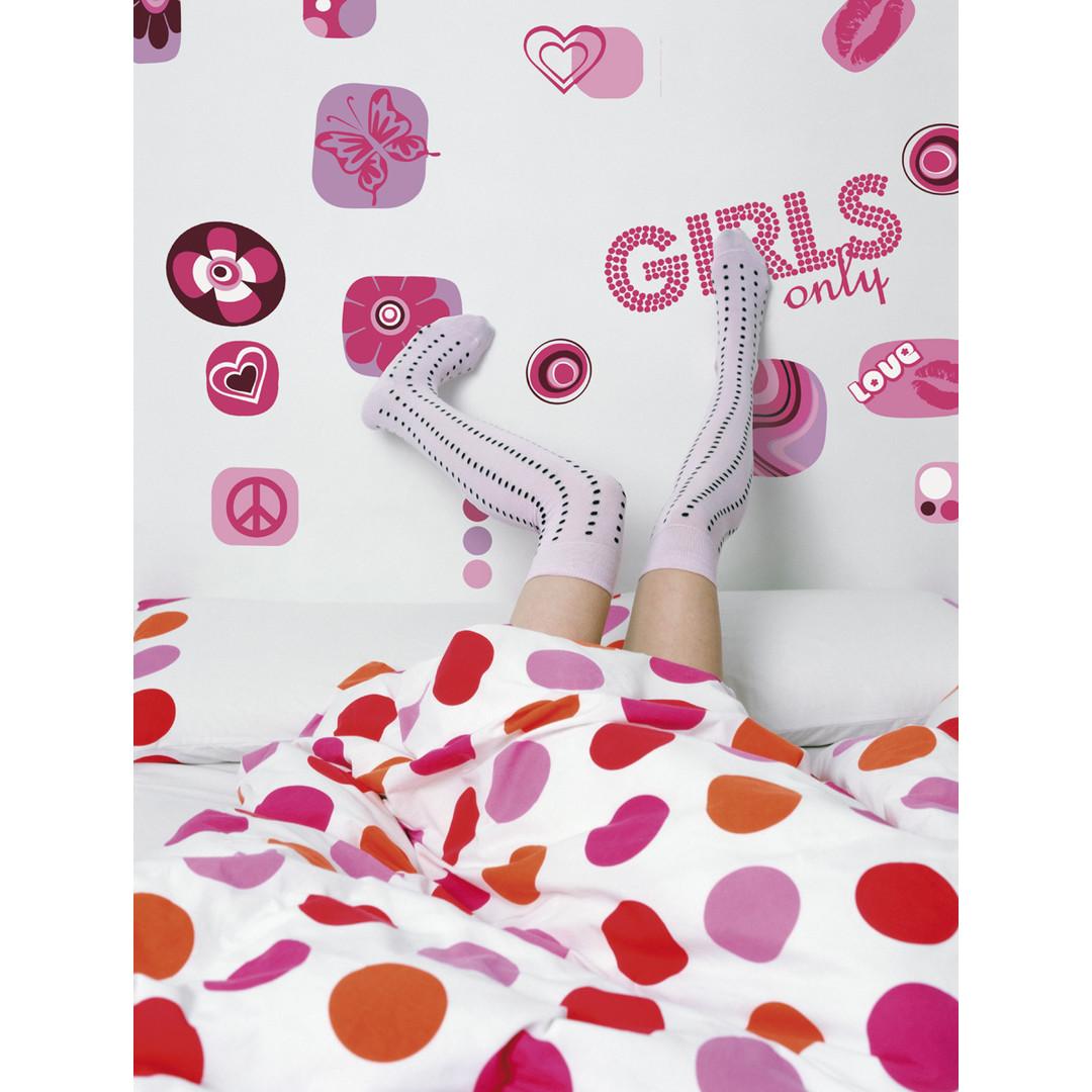 Wandsticker Girls only - KO17006h