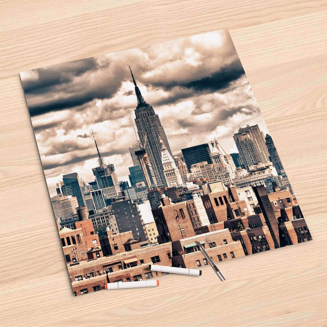 Folienbogen (60x60cm) - Skyline NYC - CR107187