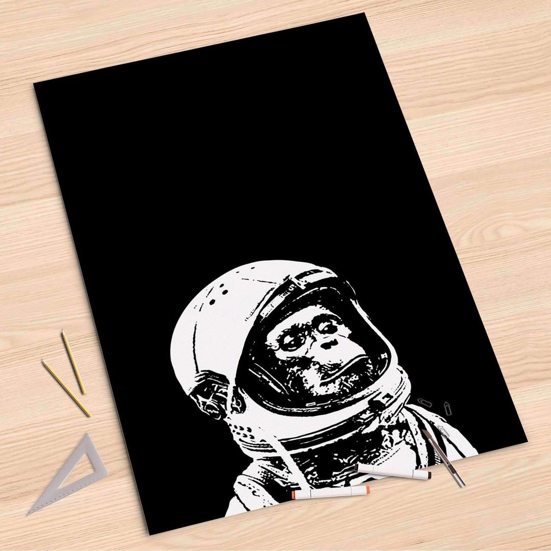 Folienbogen (80x120cm) - Ape in Space - CR107257