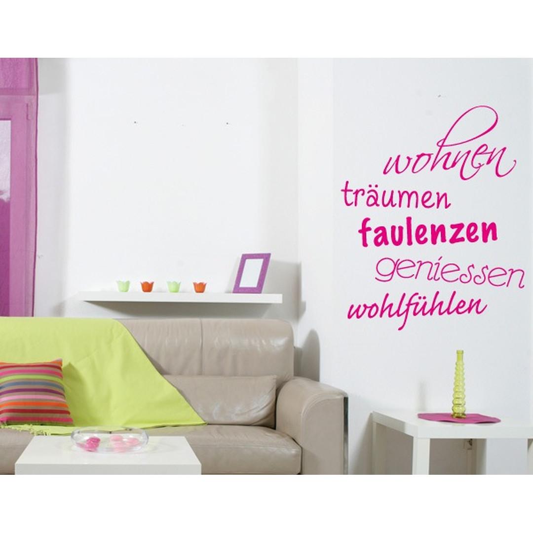 Wandtattoo Wohnen more - TD16031