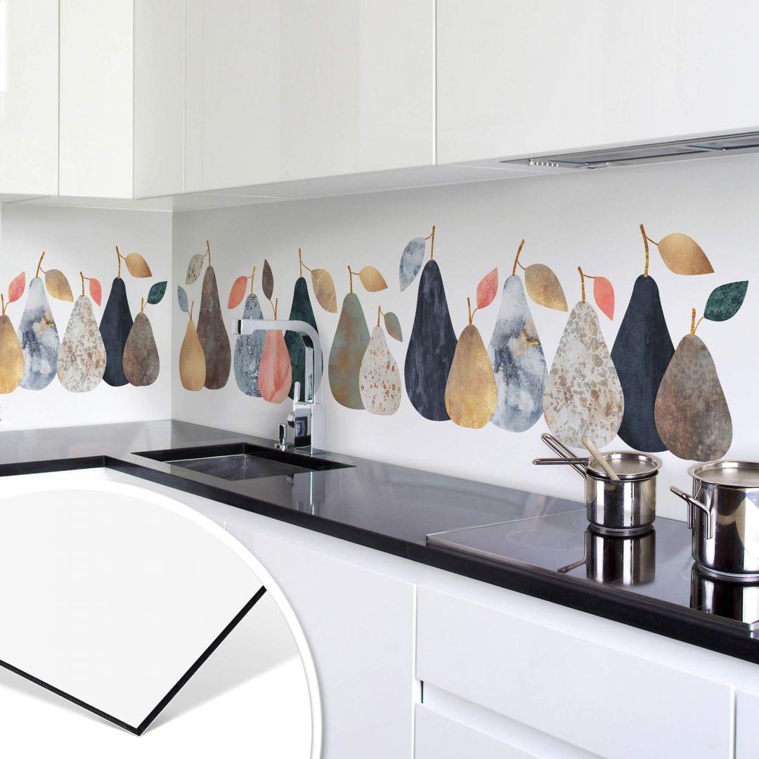 Küchenrückwand Fredriksson - Bunte Birnen - WA253719