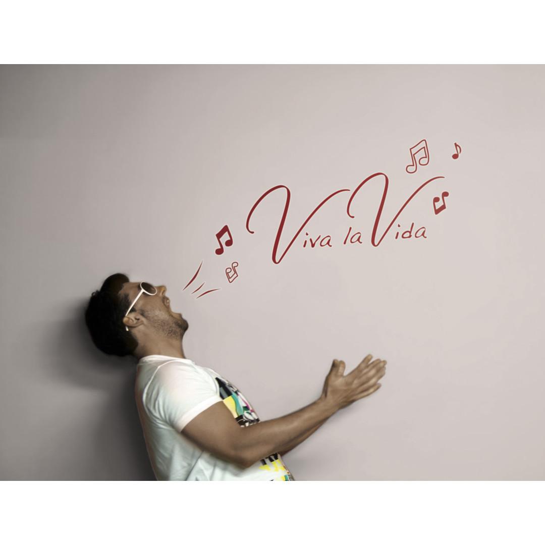 Wandsticker Viva la Vida - KO17709h