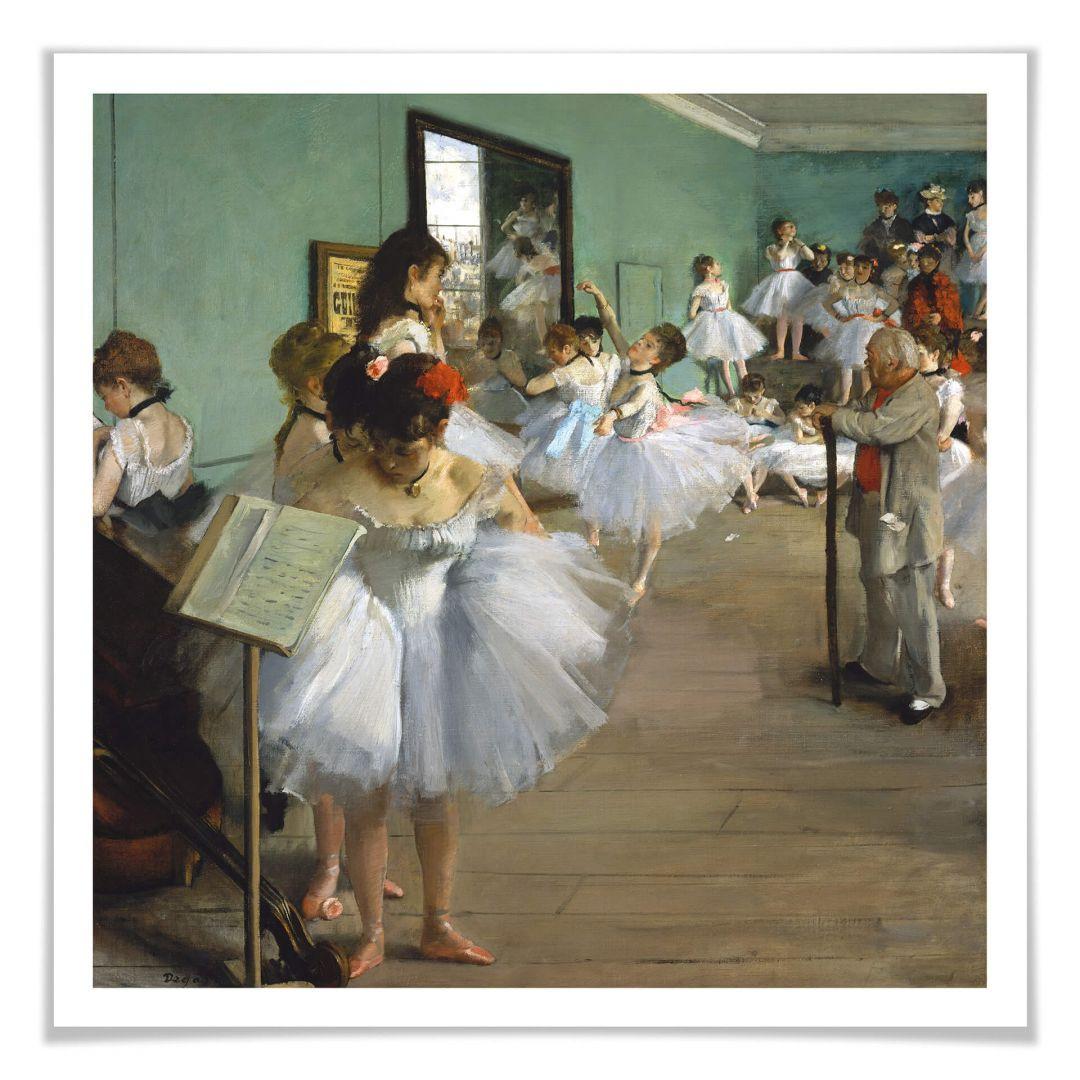 Poster Degas - Die Tanzklasse - WA257183