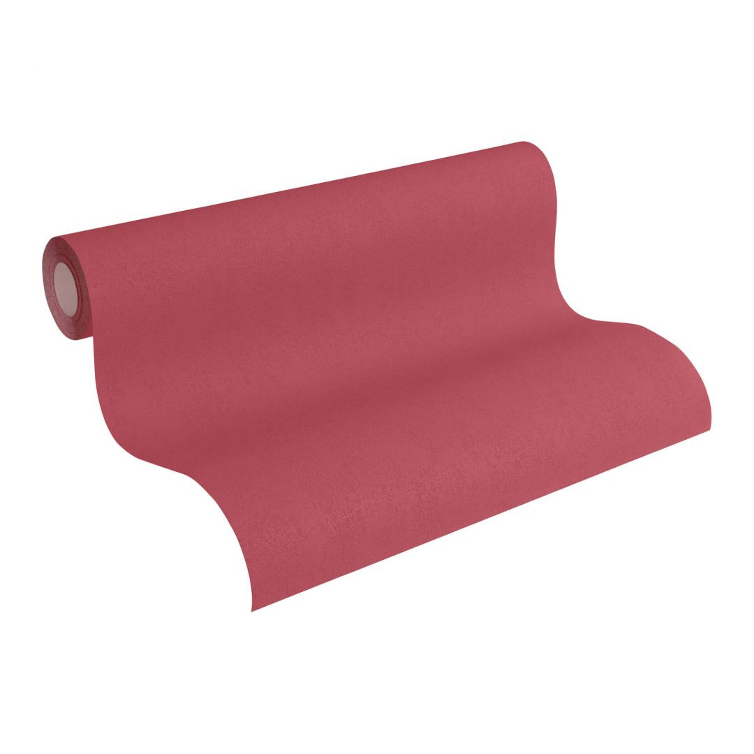 Vliestapete Premium Wall Tapete Unitapete rot - WA251125