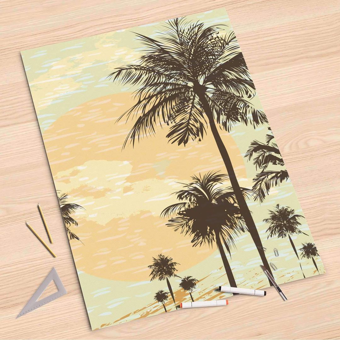 Folienbogen (80x120cm) - Beach Palms - CR107266