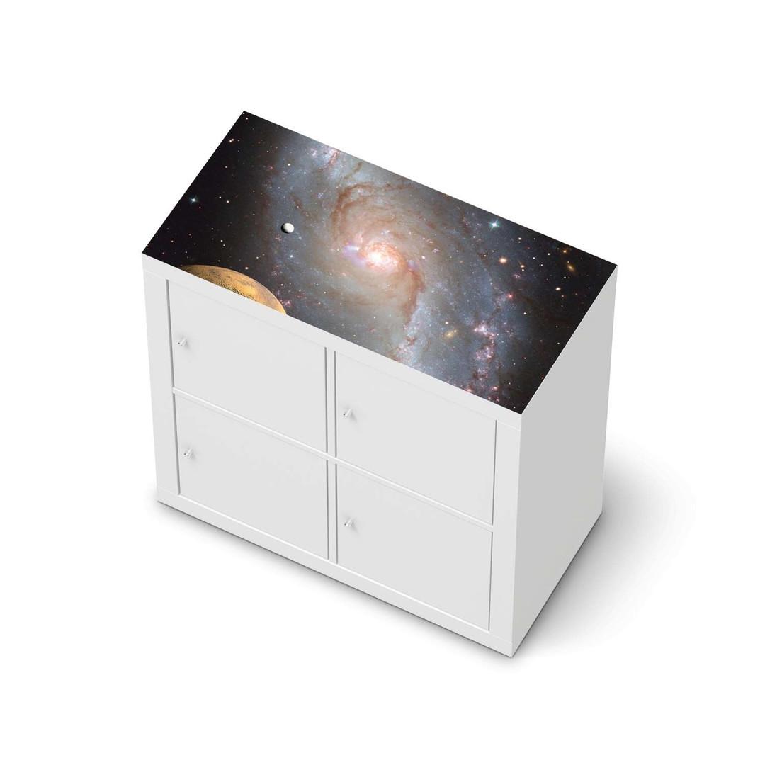 Möbelfolie IKEA Expedit Regal oben - Milky Way - CR114648