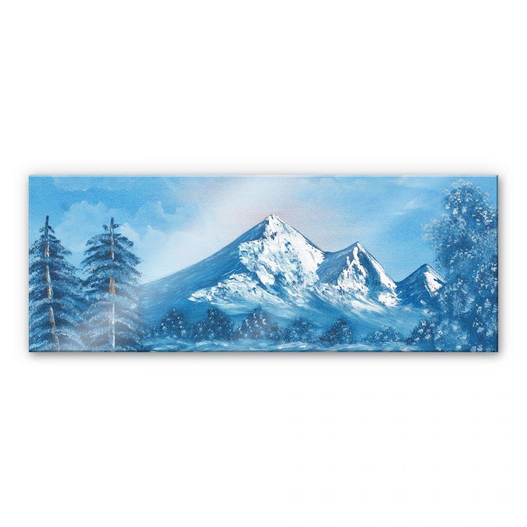 Acrylglasbild Toetzke - Alpsee in den Bergen - Panorama - WA111385