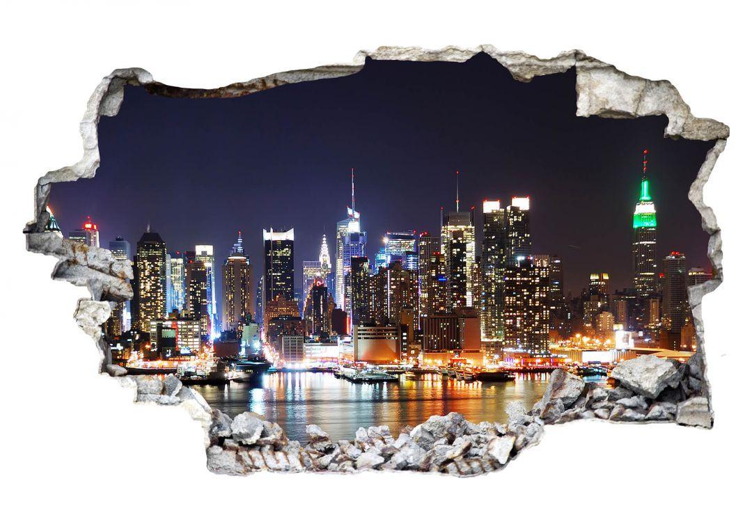 Wunderschön Wandtattoo New York Foto Von Hallo