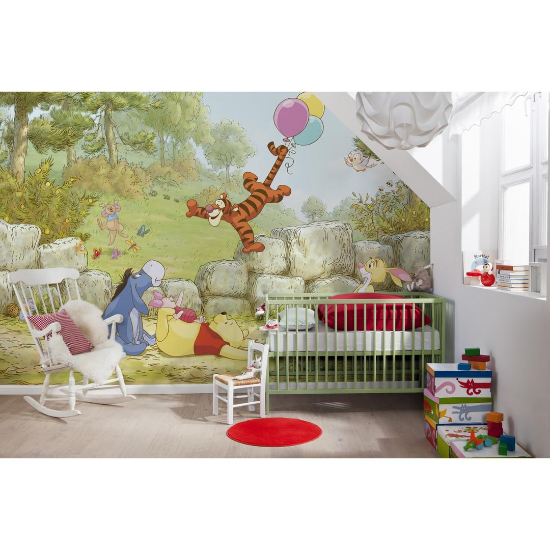 Fototapete Winnie Pooh Ballooning - KO8-460