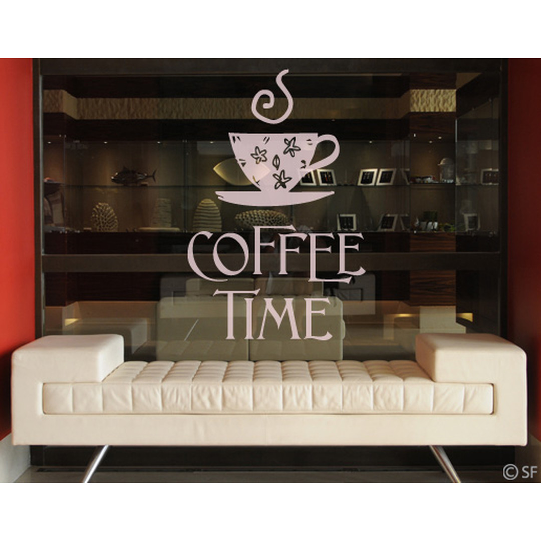 Glasdekor Coffee Time 1 - CG10383