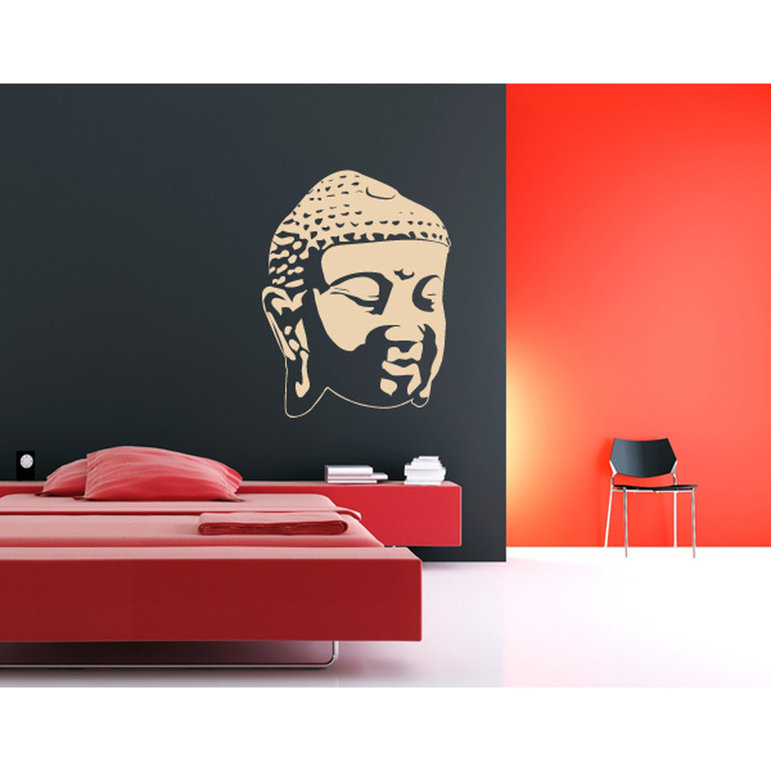 Wandtattoo Buddhagesicht Schatten II - TD16470