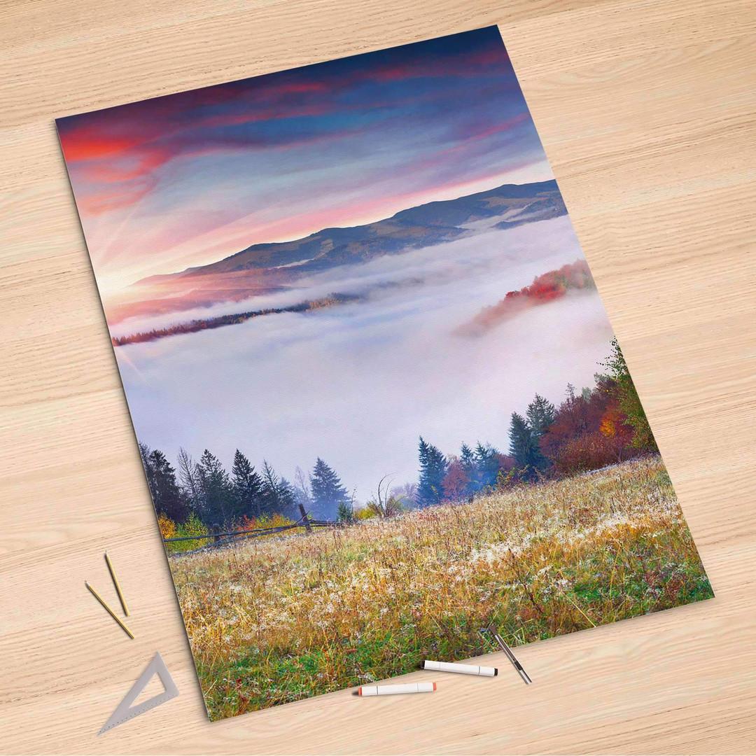Folienbogen (100x150cm) - Herbstwald - CR106196