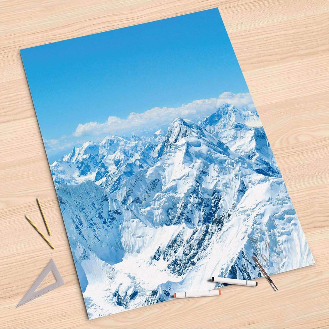 Folienbogen (80x120cm) - Himalaya - CR107351
