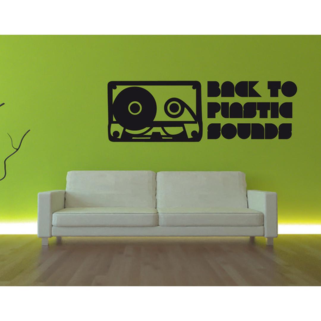 Wandtattoo Plastic Sounds - TD16368