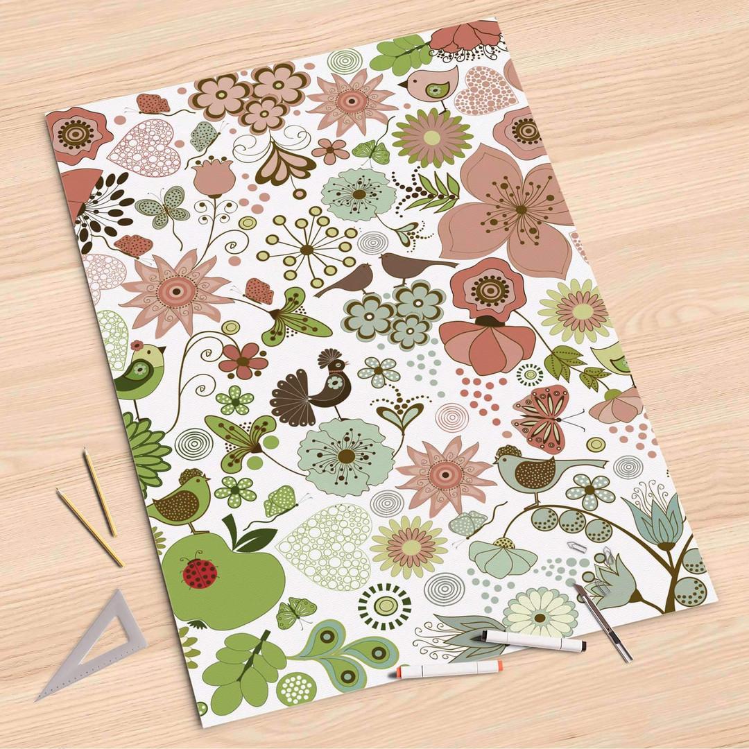 Folienbogen (80x120cm) - Flower Pattern - CR107319