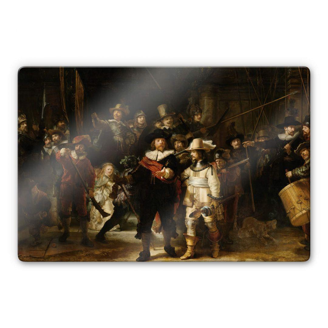 Glasbild Rembrandt - Die Nachtwache - WA252968