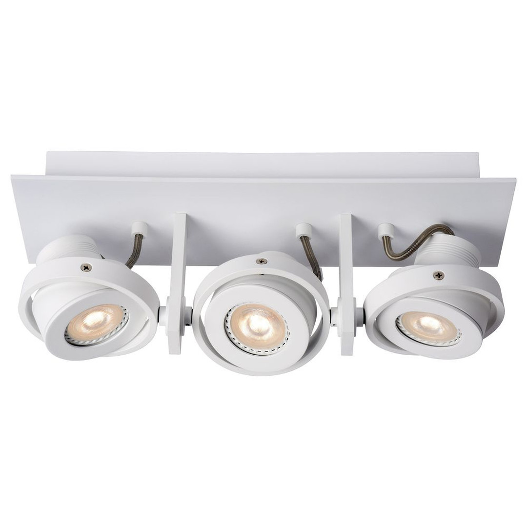 LED Deckenspott Landa 3x5W GU10 in Weiss 3-flammig - CL120074