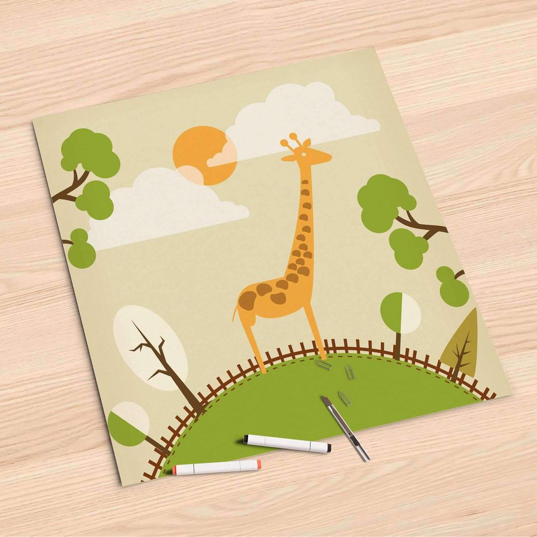 Folienbogen (60x60cm) - Mountain Giraffe - CR107133