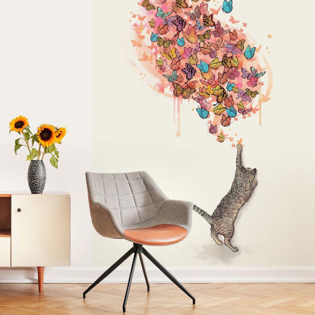 Fototapete Graves - Catching Butterflies - 192x260cm - WA271059