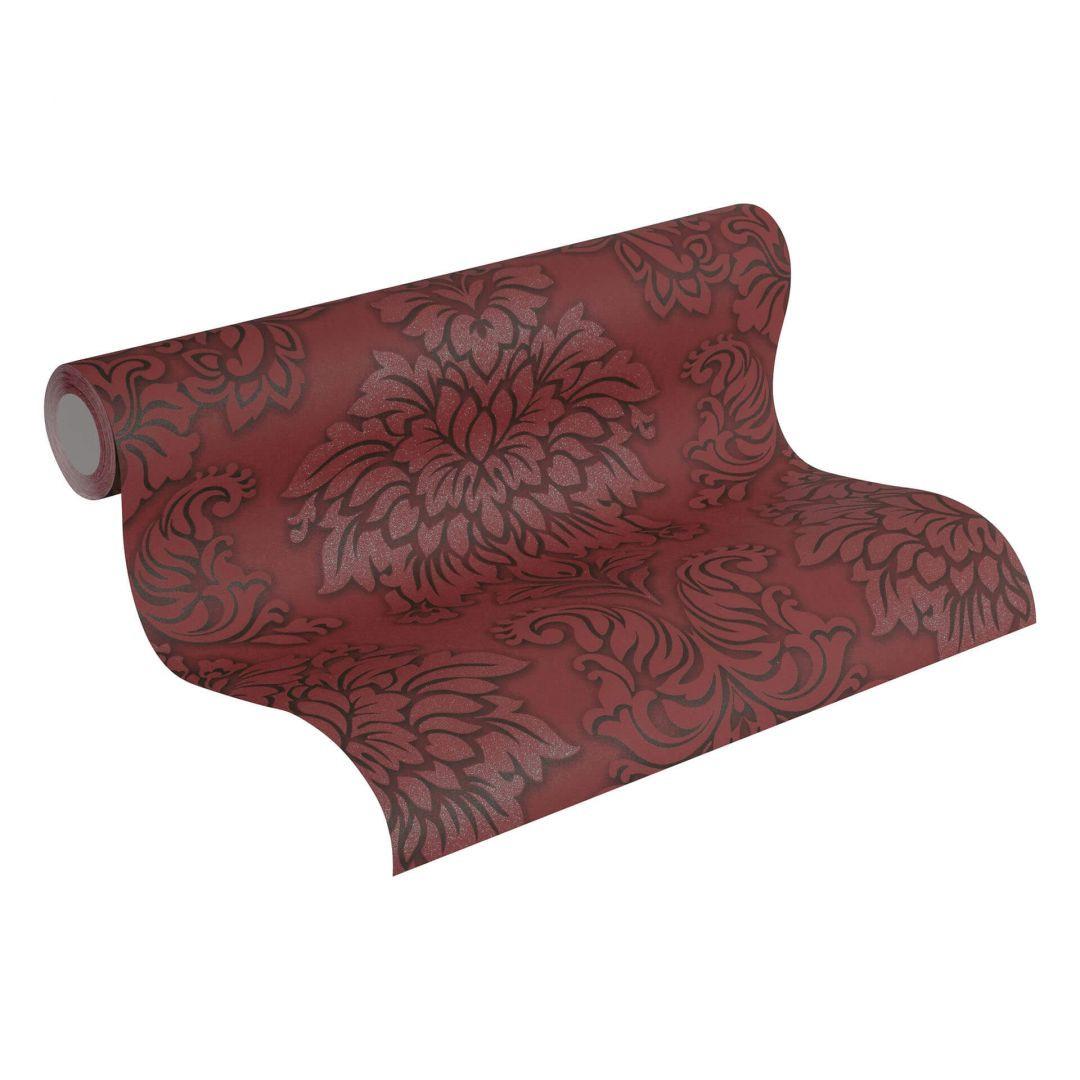 Livingwalls Vliestapete mit Glitter Metropolitan Stories Lizzy London metallic, rot, schwarz - WA255407