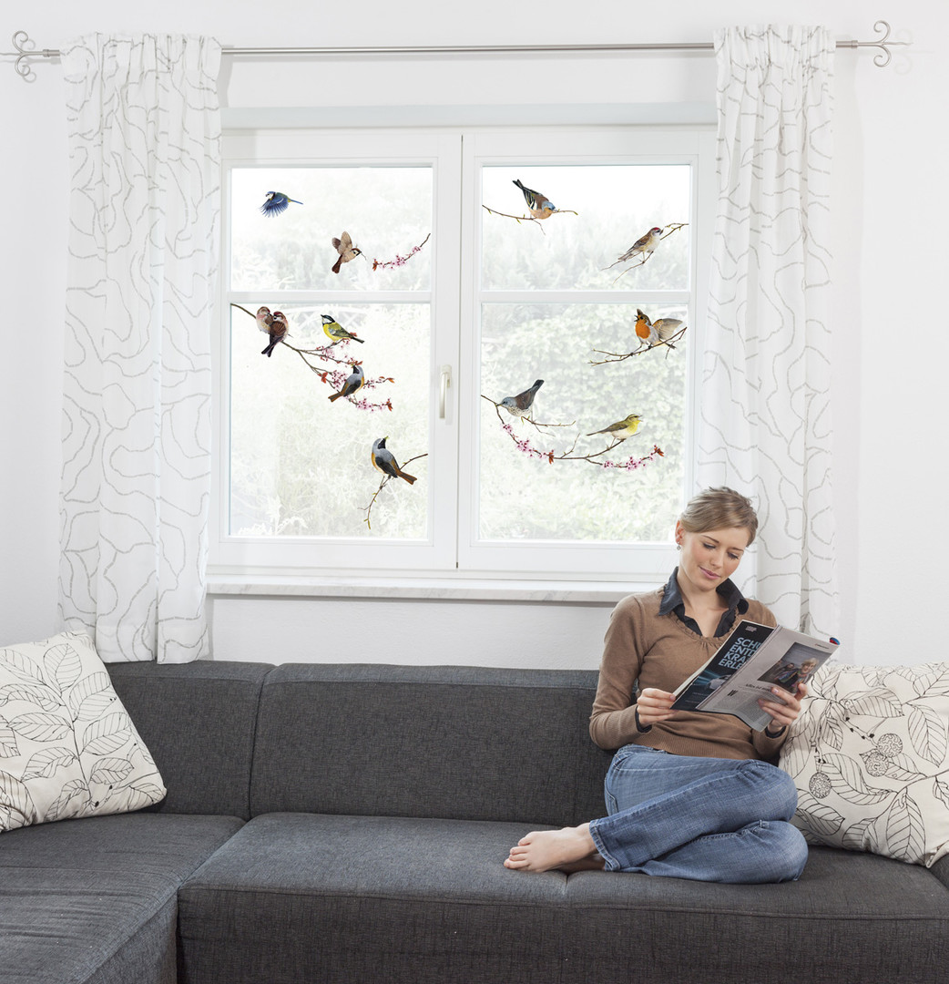 Fenstersticker Birds - KO16003
