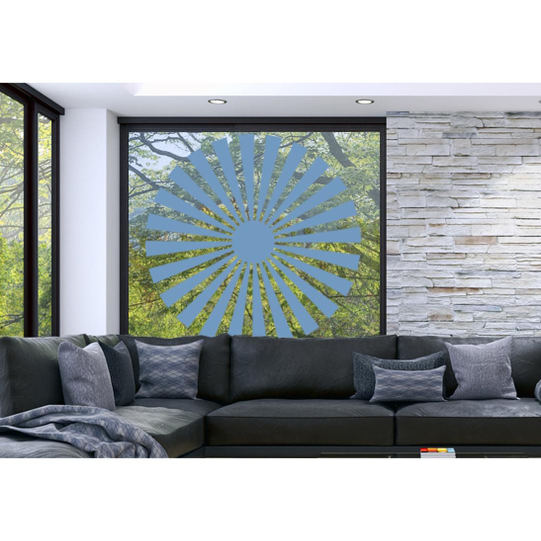 Glasdekor Sonnensymbol - CG10408
