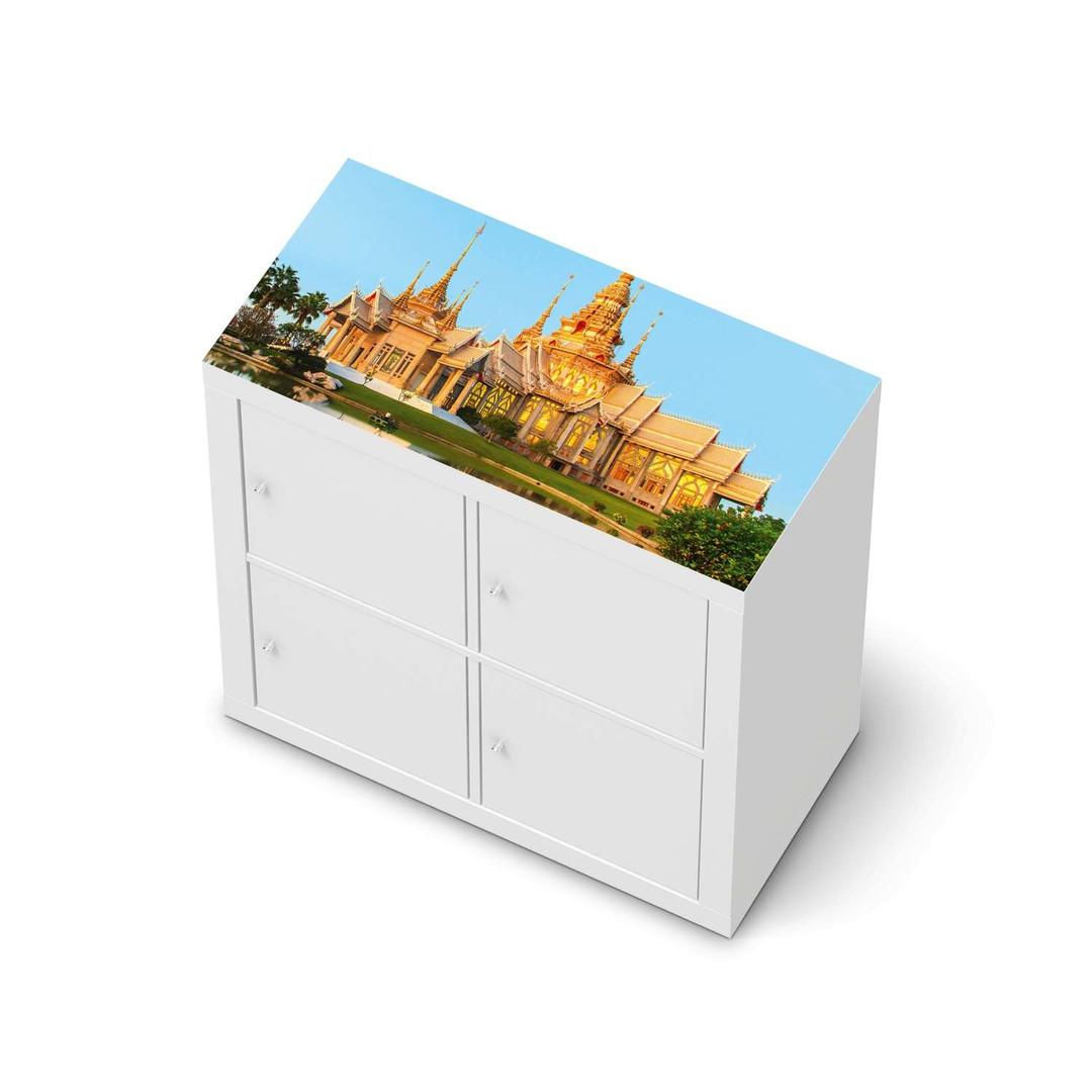 Möbelfolie IKEA Expedit Regal oben - Thailand Temple - CR114677