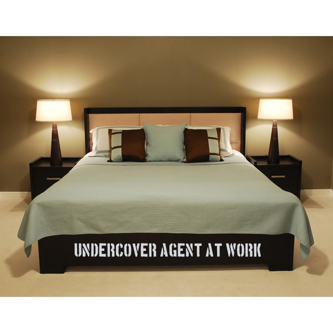 Wandtattoo Undercover Agent - TD16420