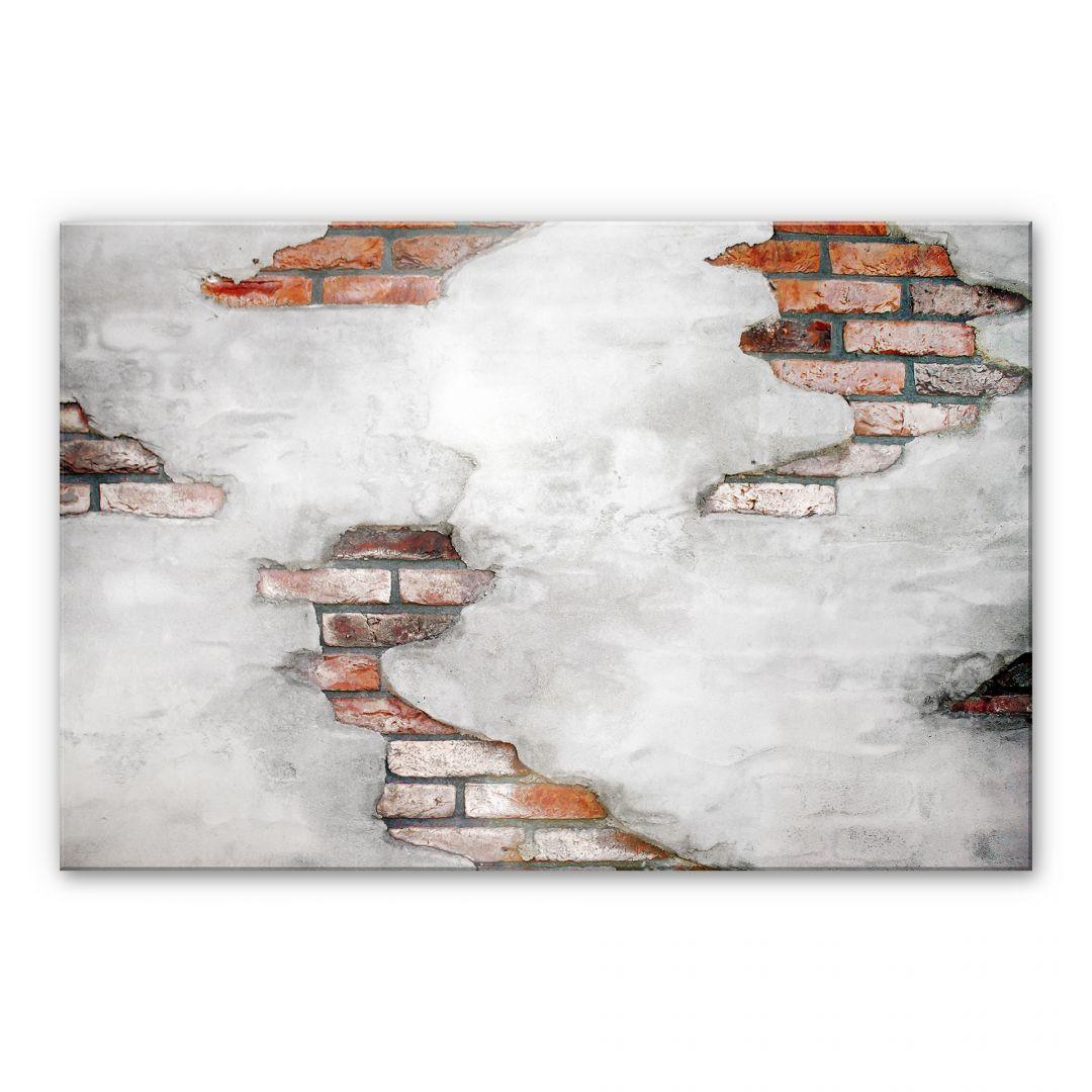 Acrylglasbild Backsteinmauer 02 - WA107030