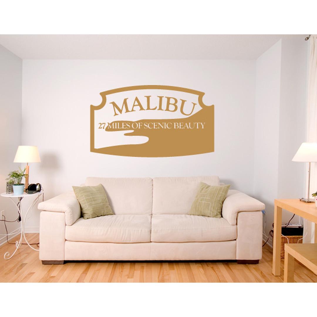 Wandtattoo Malibu - TD16128