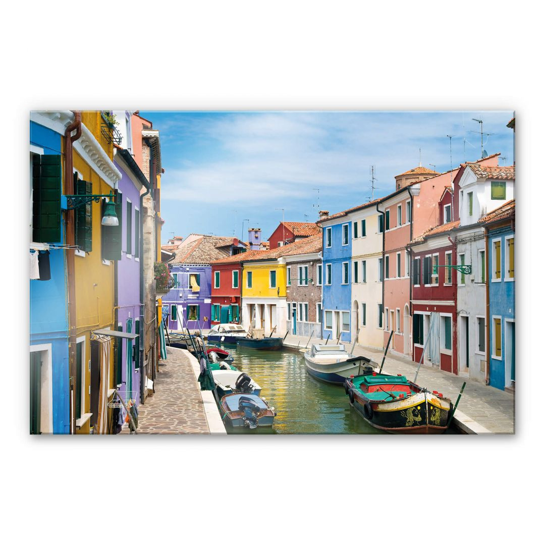 Acrylglasbild Farbenfrohes Venedig - WA288427