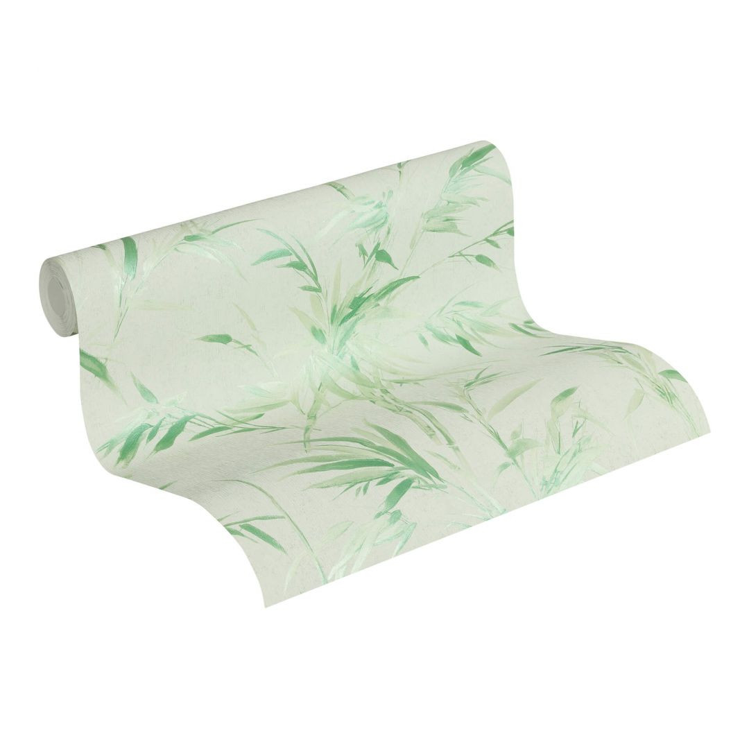 A.S. Création Vliestapete Sumatra Tapete mit Palmenblättern grün - WA288293
